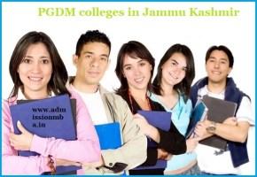 PGDM Colleges Jammu Kashmir