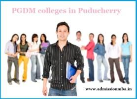 PGDM colleges in Puducherry