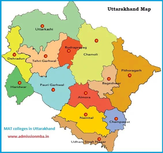 MBA Colleges Accepting MAT score in Uttarakhand