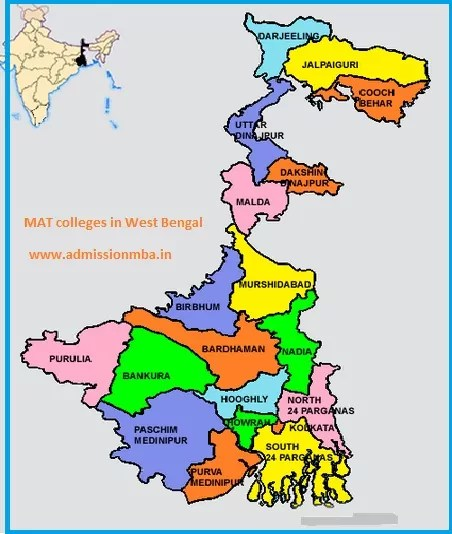 MBA Colleges Accepting MAT score in West Bengal