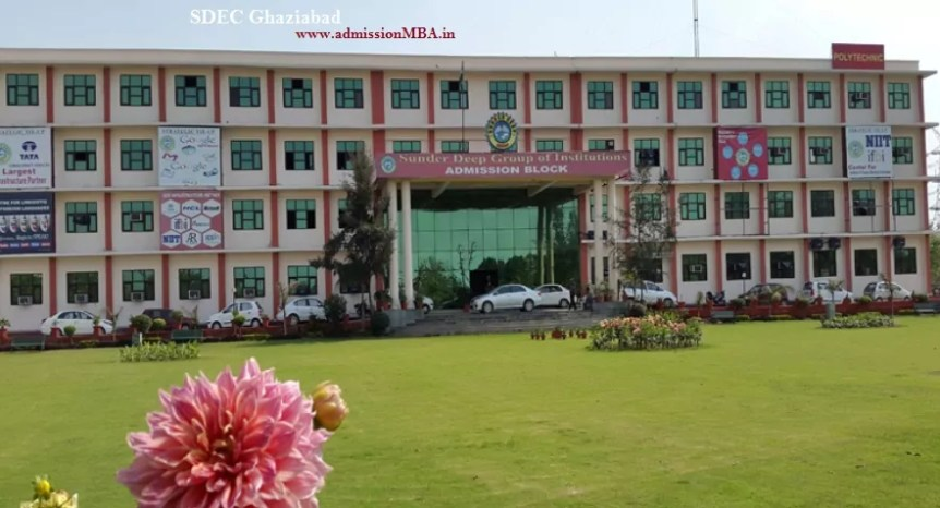SDEC Ghaziabad Admission 2019