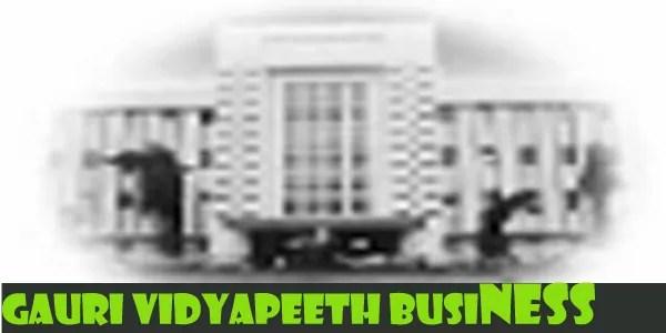 Gauri Vidyapeeth Business School Campus