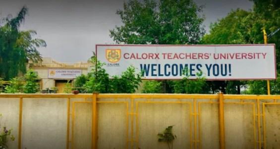 Calorx Teachers University Infrastructure