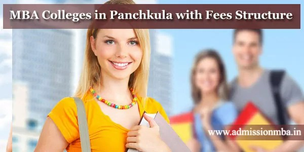 MBA Colleges in Panchkula with Fees Structure