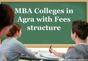 MBA Colleges in Agra with Fees structure