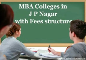 MBA Colleges in JP Nagar with Fees structure