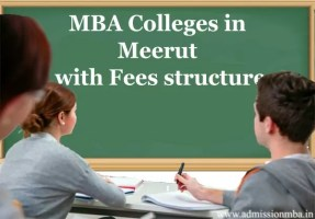 MBA Colleges in Meerut with Fees Structure