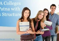 MBA Colleges Patna with Fees Structure