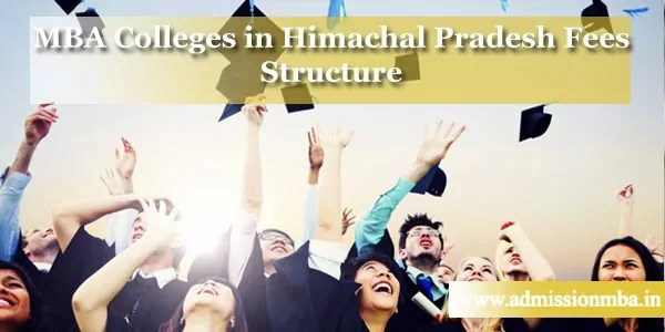 MBA Colleges in Himachal with Fees