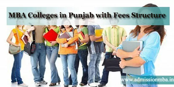 MBA Colleges in Punjab with Fees Structure