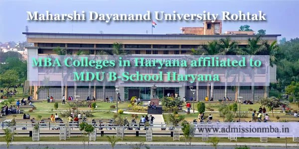 List of MDU Affiliated Colleges in Haryana - Maharshi Dayanand University