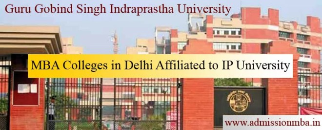 MBA Colleges in Delhi Affiliated to IP University