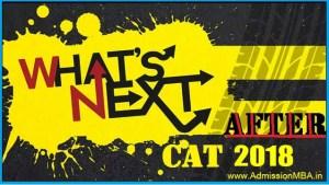 What after CAT 2018? Got Low CAT Scores