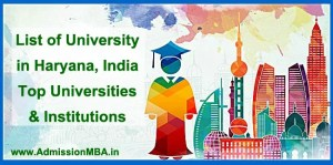 List of University in Haryana, India Top Universities & Institutions