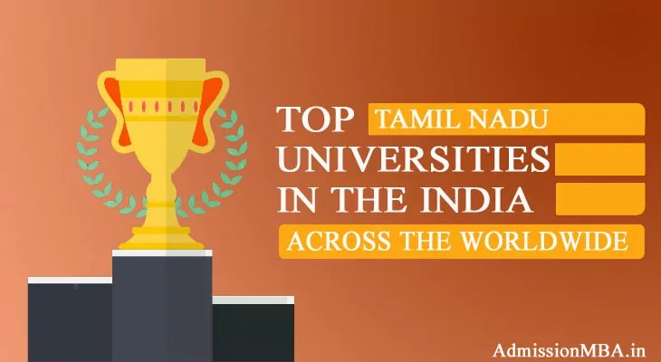 Tamil Nadu Worldwide Best Universities
