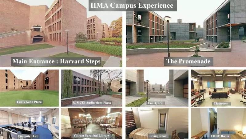IIMA Campus Experience
