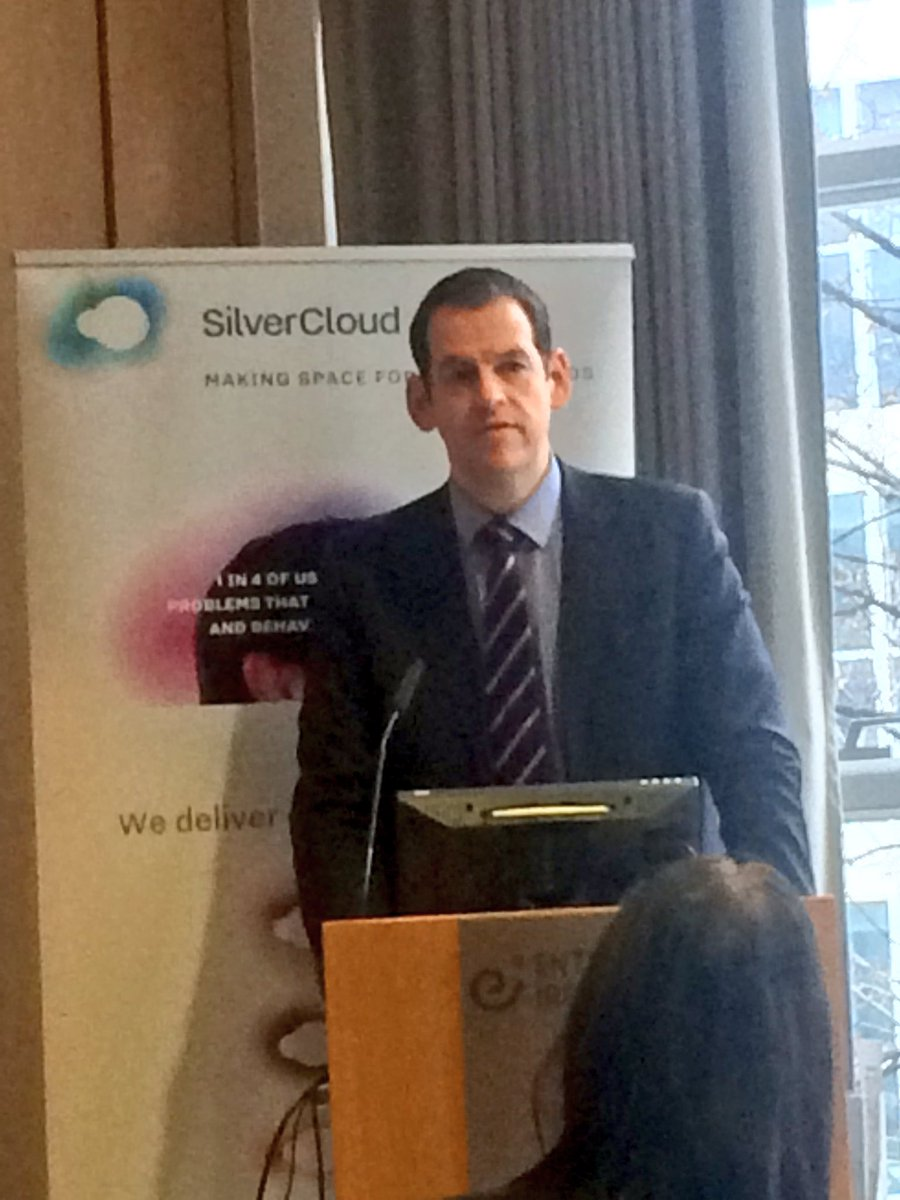 """RT @NDRC_hq: """"80,000 patients have been delivered @SilverCloudH"""" #mentalhealth #…"""