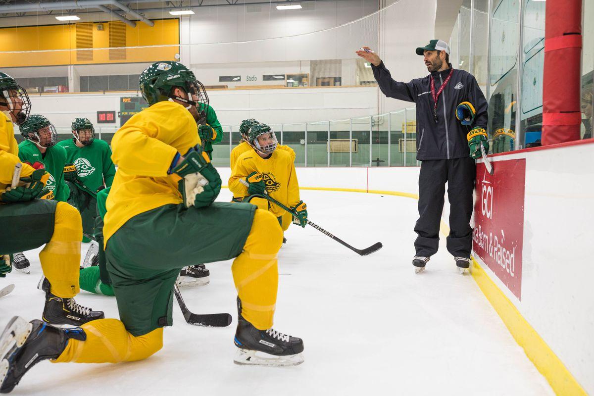 Uaa Hockey Coach Doing Double Duty This Week As A Usa