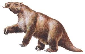الميجاثيروم Megatherium إسمه البَهضَم