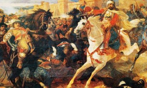 لوحة تصور معركة ملاذكرد