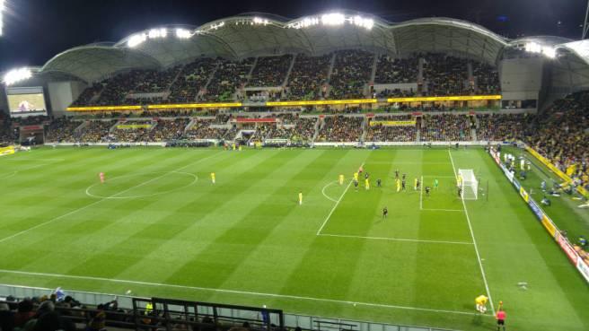 Socceroos vs Thailand at AAMI Park