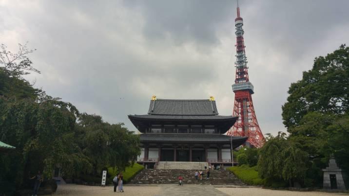 Shrine next to Tokyo Tour