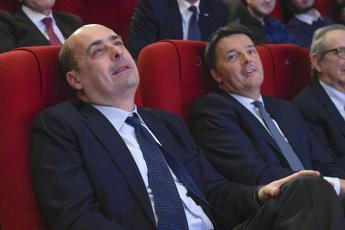 Renzi: Forte sintonia con Zingaretti, se son rose fioriranno