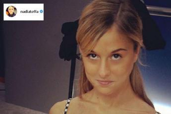 Nadia Toffa, la foto degli esordi in tv