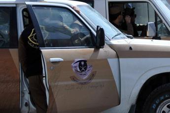 Fermato italiano ad aeroporto di Riad