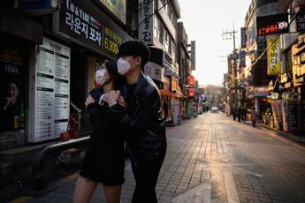 Covid, impennata di contagi in Sudcorea