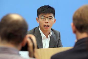 Hong Kong, Joshua Wong si dimette da gruppo pro democrazia