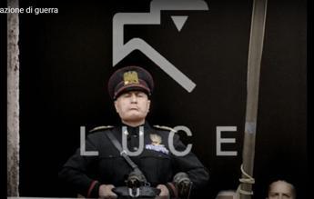 Mussolini annuncia entrata in guerra, il video restaurato e a colori