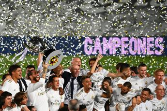 Real Madrid batte Villarreal, è campione di Spagna