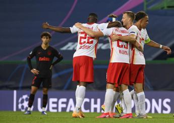 Lipsia in semifinale di Champions, batte 2-1 l'Atletico Madrid