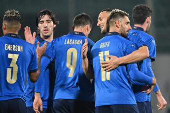 Italia-Estonia 4-0, poker azzurro in amichevole