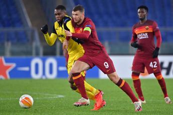 Roma-Young Boys 3-1, giallorossi primi nel gruppo A