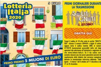Lotteria Italia 2021, ecco tutti i biglietti vincenti