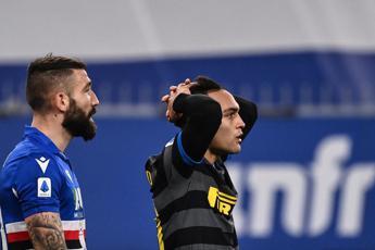 Samp-Inter 2-1, Conte ko e niente sorpasso in vetta