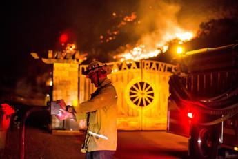 Catastrofe California, brucia tutto