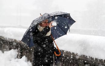 Maltempo a Natale, 25 dicembre con freddo e neve