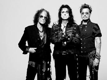 Johnny Depp e i suoi 'Hollywood Vampires' a Milano un giorno prima