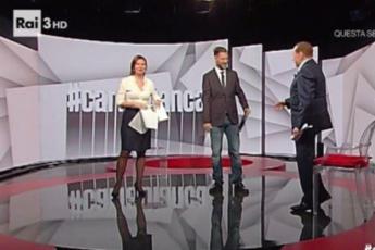 Berlusconi sbotta con Bianca Berlinguer: Mi alzo e me ne vado /Video