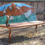 Wild Geese Bench, Steel