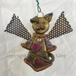 Polymer clay Christmas Angel