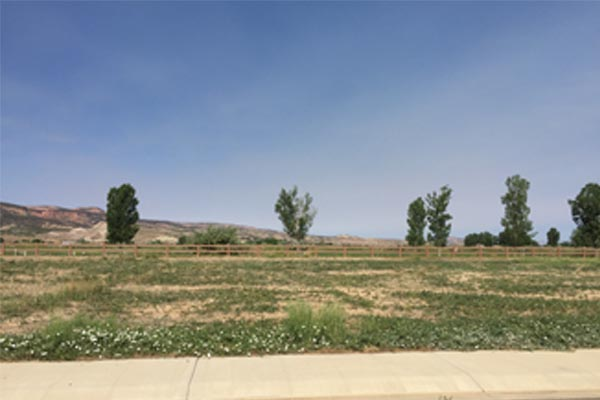 1369 fairway vacant lot Fruita Colorado