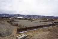 foundation of new home in fruita ready for concrete