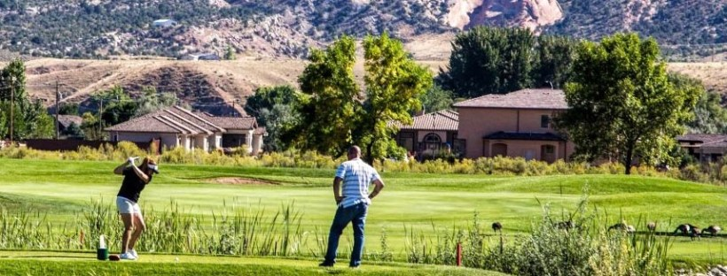 Adobe Falls Homes from Adobe Creek Golf