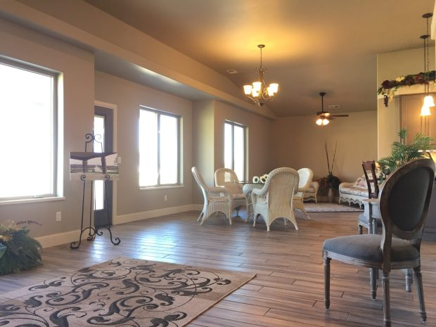 Great Room of 1327 Eagle Way - new home in Fruita Colorado