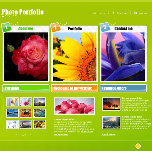 Create Online Photo Portfolio in Photoshop CS3