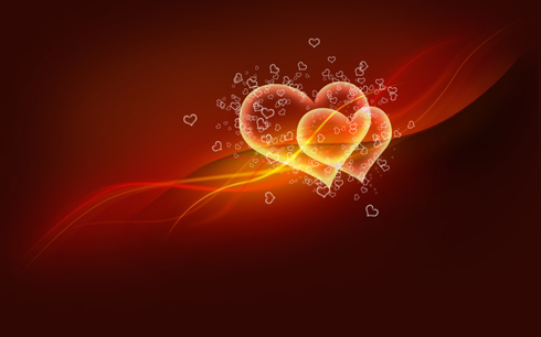 Make your own Valentine's Day card in Photoshop CS4